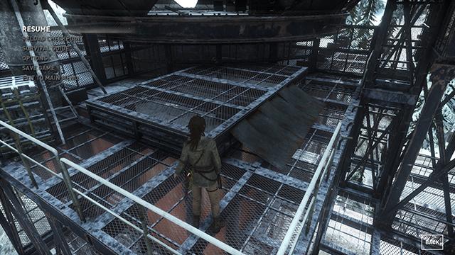 Rise of the Tomb Raider - Ambient Occlusion Interactive Comparison #011 - NVIDIA VXAO vs. NVIDIA HBAO+