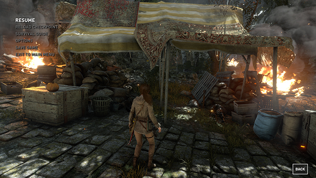 Rise of the Tomb Raider - Ambient Occlusion Interactive Comparison #013 - NVIDIA VXAO vs. NVIDIA HBAO+