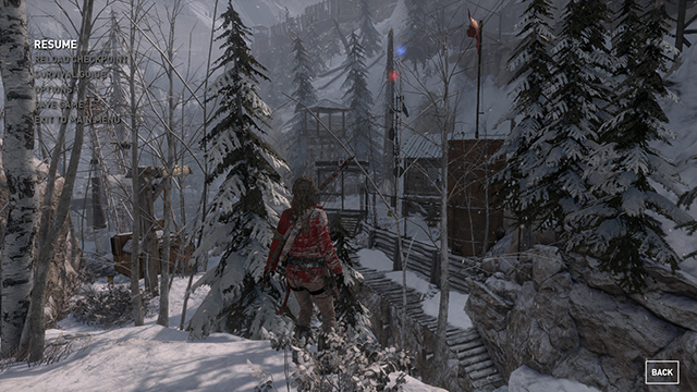 Rise of the Tomb Raider - Anti-Aliasing Interactive Comparison #003 - SSAA 4x vs. FXAA