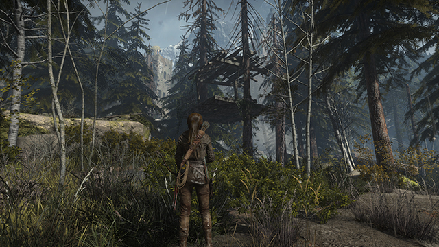 Rise of the Tomb Raider - 3840x2160 PC Screenshot, with 4x SSAA