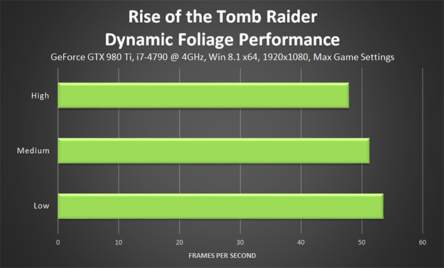 Rise of the Tomb Raider - Dynamic Foliage Performance