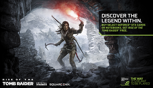 Rise of the Tomb Raider NVIDIA GeForce GTX Bundle