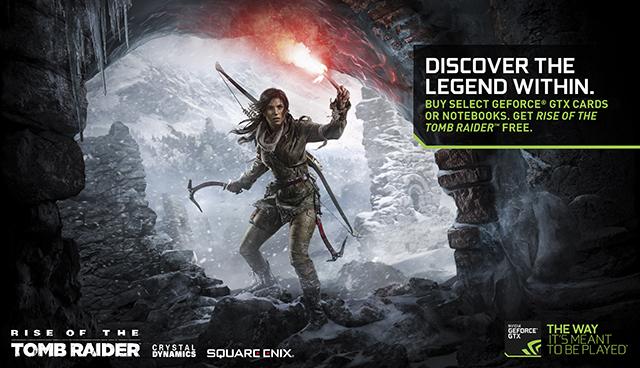 Rise of the Tomb Raider NVIDIA GeForce GTX Bundle