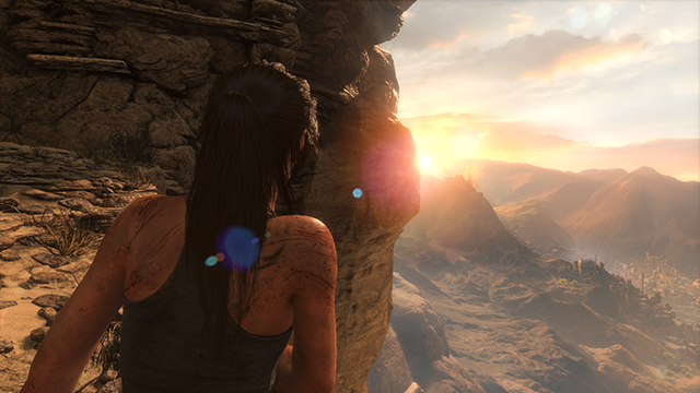 Rise of the Tomb Raider - Lens Flares Interactive Comparison #001 - Lens Flares On vs. Lens Flares Off