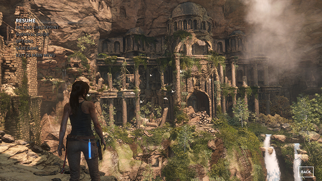 Rise of the Tomb Raider - Level of Detail Interactive Comparison #001 - Very High vs. Low