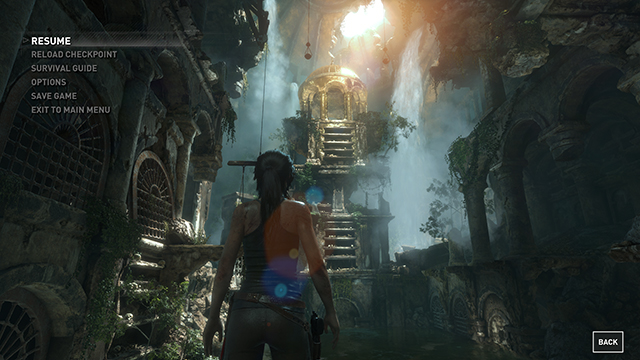 Rise of the Tomb Raider - Level of Detail Interactive Comparison #003 - Very High vs. Low