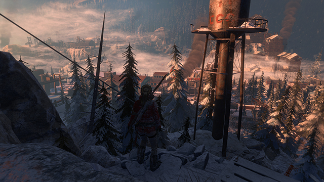 Rise of the Tomb Raider - Level of Detail Interactive Comparison #004 - Very High vs. Low