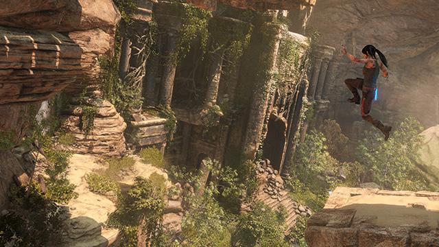 《古墓奇兵:崛起》NVIDIA GeForce GTX 搭售版 - 《古墓奇兵:崛起》4K PC 遊戲畫面