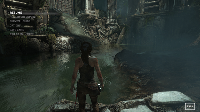 Rise of the Tomb Raider - Screen Space Reflections Interactive Comparison #001 - Screen Space Reflections On vs. Screen Space Reflections Off