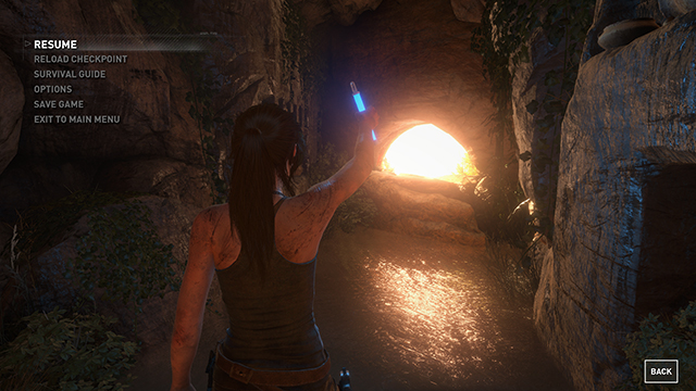 Rise of the Tomb Raider - Screen Space Reflections Interactive Comparison #002 - Screen Space Reflections On vs. Screen Space Reflections Off