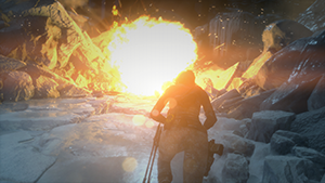 Rise of the Tomb Raider - Screen Space Reflections Screenshot