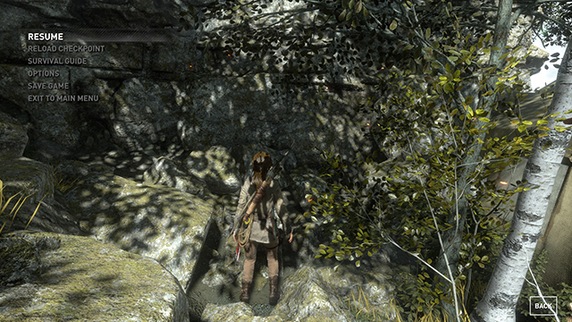 Rise of the Tomb Raider - Sun Soft Shadows Interactive Comparison #001 - Very High vs. Off