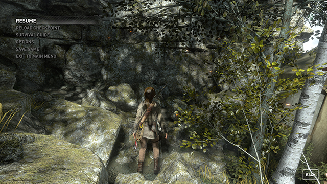 Rise of the Tomb Raider - Sun Soft Shadows Interactive Comparison #002 - Very High vs. Off