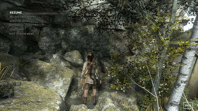 Rise of the Tomb Raider - Sun Soft Shadows Interactive Comparison #003 - Very High vs. Off