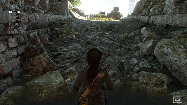 Rise of the Tomb Raider - Tessellation Interactive Comparison #002 - Tessellation On vs. Tessellation Off