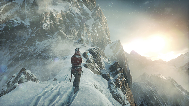 Rise of the Tomb Raider - Snow Tessellation Screenshot