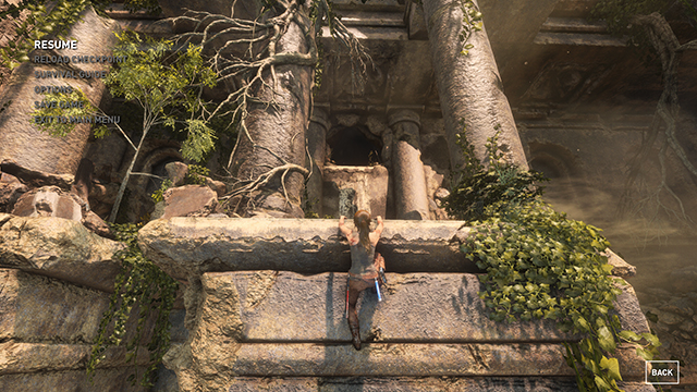 Rise of the Tomb Raider - Texture Quality Interactive Comparison #001 - Very High vs. Low