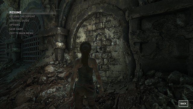 Rise of the Tomb Raider - Texture Quality Interactive Comparison #002 - Very High vs. Low
