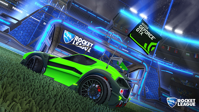Rocket League: GeForce GTX Flag