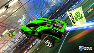 Rocket League: NVIDIA Flag