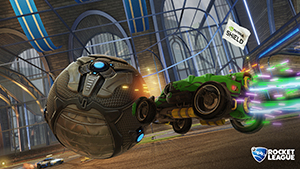 Rocket League: NVIDIA SHIELD Flag