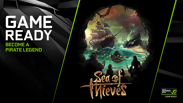 Sea of Thieves GeForce GTX Game Ready Key Visual