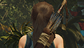 Shadow of the Tomb Raider - Hair Anti-Aliasing Example #001 - SMAA4x