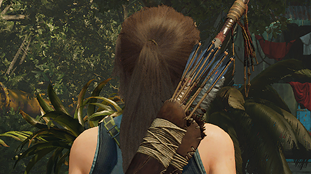 Shadow of the Tomb Raider - Hair Anti-Aliasing Interactive Comparison #001 - SMAA4x vs. SMAAT2x