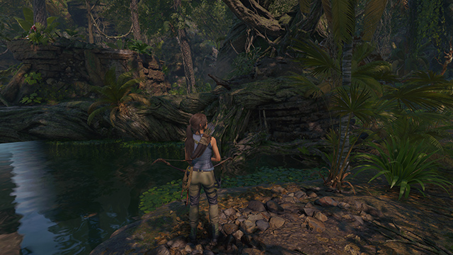 Shadow of the Tomb Raider - PureHair Interactive Comparison #003 - Normal vs. Low