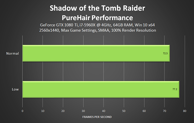 Shadow of the Tomb Raider - PureHair Gameplay Performance