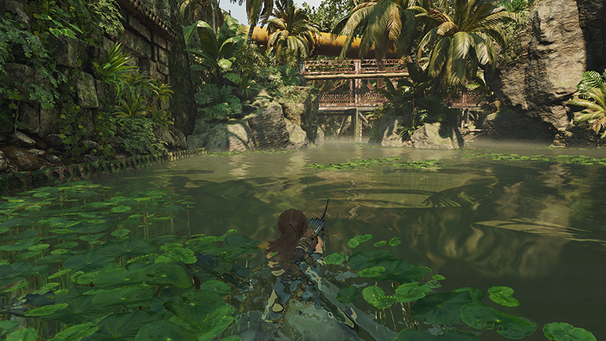 Shadow of the Tomb Raider - Screen Space Reflections Interactive Comparison #002 - Screen Space Reflections On vs. Screen Space Reflections Off