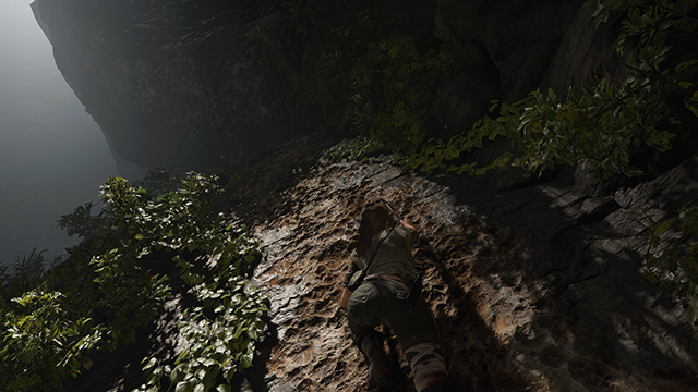 Shadow of the Tomb Raider - Tessellation Interactive Comparison #001 - Tessellation On vs. Tessellation Off