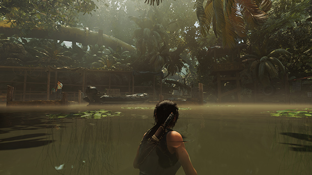 Shadow of the Tomb Raider - Volumetric Lighting Interactive Comparison #001 - Volumetric Lighting On vs. Volumetric Lighting Off