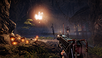 Shadow Warrior 2 - NVIDIA Multi-Res Shading 例 #002 - Conservative