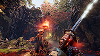 Shadow Warrior 2 - NVIDIA Multi-Res Shading 例 #003 - Conservative