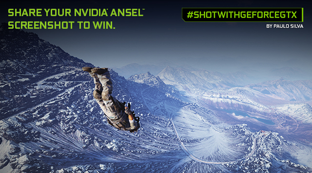 NVIDIA 'Shot With GeForce GTX Ansel Contest'