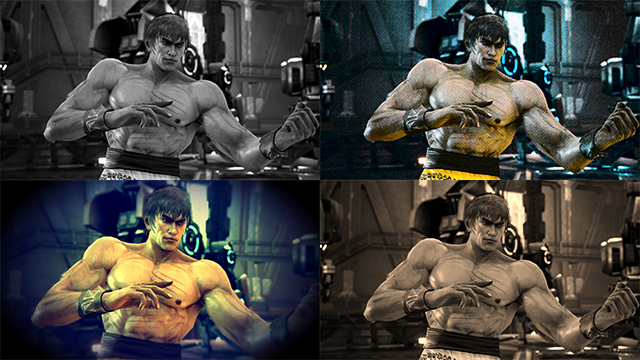 NVIDIA Ansel: Tekken 7 Filter Collage