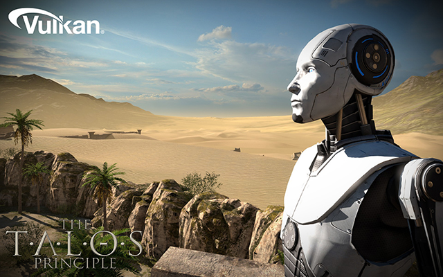 The Talos Principle Running On Vulkan