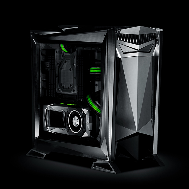 The Ultimate GeForce PC, Designed and Built by NVIDIA and Parvum