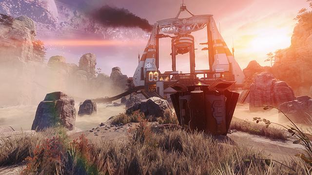 """泰坦陨落 2 (Titanfall 2)""- 自适应分辨率 FPS 目标值互动比较 #001 - Off (关)与 144 FPS"