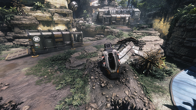 Titanfall 2 - Anti-Aliasing Interactive Comparison #001 - 8x MSAA vs. TSAA