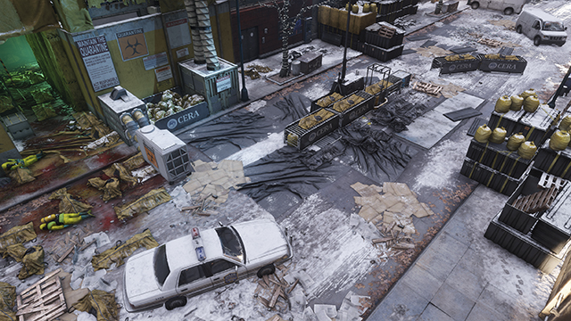 Tom Clancy's The Division - Ambient Occlusion Interactive Comparison #002 - NVIDIA HBAO+ vs. Ultra