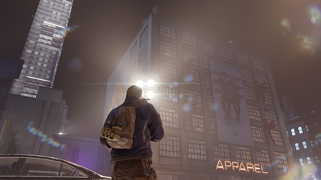 Tom Clancy's The Division - Lens Flare Interactive Comparison #001 - Lens Flare On vs. Lens Flare Off