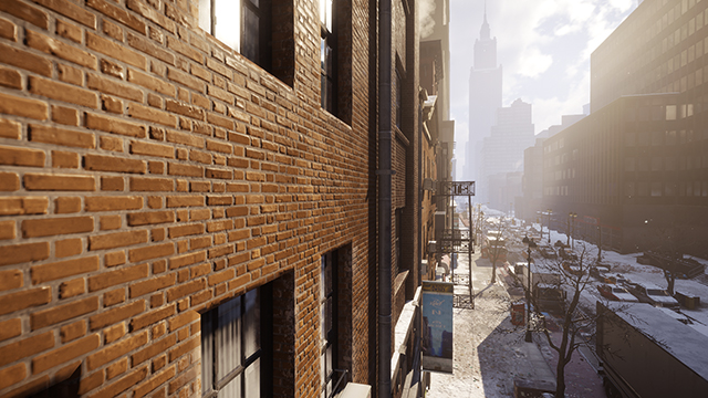 Tom Clancy's The Division - Parallax Mapping Interactive Comparison #001 - High vs. Off