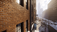 Tom Clancy's The Division - Parallax Mapping Example #001 - Low