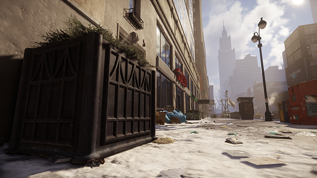 Tom Clancy's The Division - Parallax Mapping Interactive Comparison #002 - High vs. Off