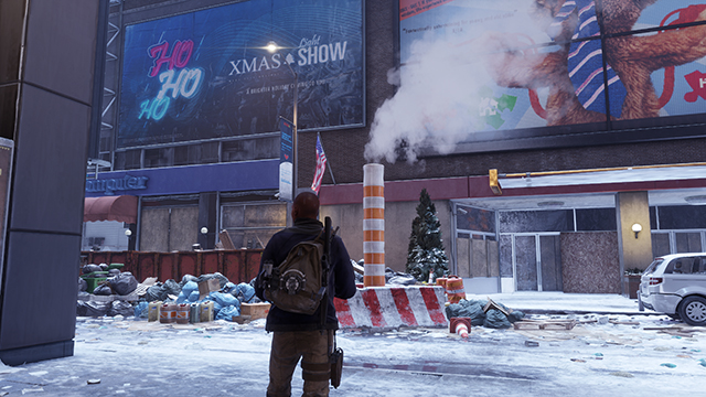 Tom Clancy's The Division - Reflection Quality Interactive Comparison #003 - Scene Being Reflected