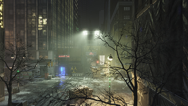 Tom Clancy's The Division - Volumetric Fog Interactive Comparison #001 - Ultra vs. Medium