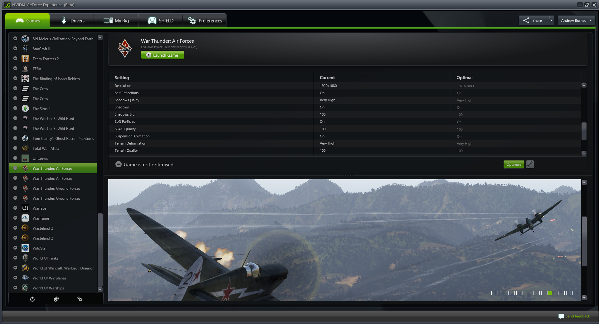 War Thunder: Firestorm Update Adds Game-Changing NVIDIA