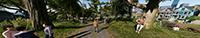 《看門狗 2》NVIDIA Surround 遊戲截圖